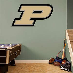 Purdue Boilermakers Logo Fathead Wall Decal